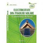 Electricitate din panouri solare.