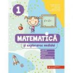 Mate 2021 - Matematică și explorarea mediului. Exerciții, probleme, jocuri, teste de evaluare. Clasa 1 - BERECHET Daniela