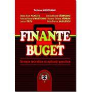 Finante-Buget. Sinteze teoretice si aplicatii practice