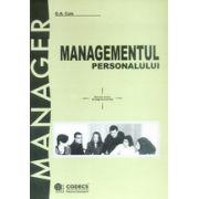Managementul personalului