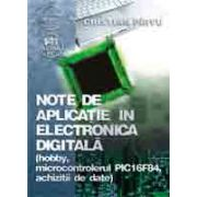 Note de aplicatie în electronica digitalã