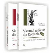 Sistemul judiciar din romania. Culegere de acte normative (1859-1989) - 2 volume