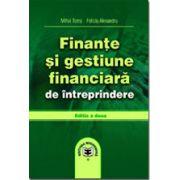 Finante si gestiune financiara de intreprindere, editia a II-a