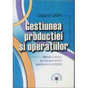 Gestiunea productiei si operatiilor