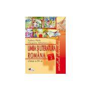 Limba Romana caietul elevului pentru clasa a-IV-a - partea II-a
