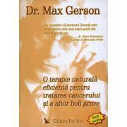 O terapie naturală eficientă pentru tratarea cancerului şi a altor boli grave - DVD inclus
