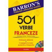 501 verbe franceze, cu CD