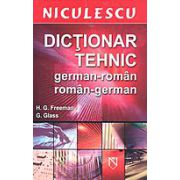 Dictionar tehnic german roman roman german