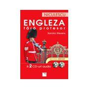 Engleza fara profesor. 2 CD-uri audio. Metoda instant
