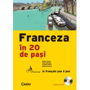 FRANCEZA IN 20 DE PASI (carte cu CD)