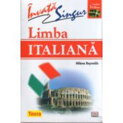 Invata singur limba italiana + 3 CD-uri