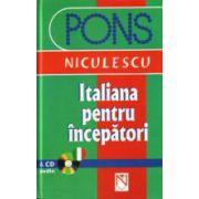 Italiana pentru incepatori + CD