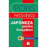Japoneza pentru incepatori cu 2 CD