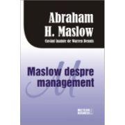 Maslow despre management