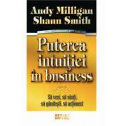 Puterea intuitiei in business. Sa vezi, sa simti, sa gandesti, sa actionezi