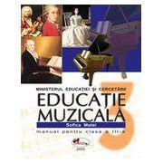 Educatie muzicala – manual, clasa a III-a