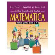 Matematica – manual, clasa a 4-a