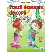 Poezii desenate de copii 5-7 ani