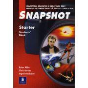Snapshot. Manual de limba engleza clasa a V-a. Starter Student' Book