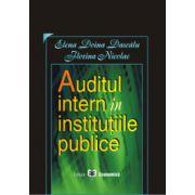 Auditul intern si institutiile publice