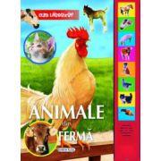Animale din ferma - carte cu sunete