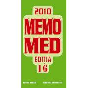 MEMOMED 2010. Memorator de farmacologie si ghid farmacoterapic. Editia a 16-a.