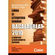 LIMBA SI LITERATURA ROMANA. BACALAUREAT 2010
