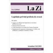 Legea privind profesia de avocat (actualizat la 05.02.2010)