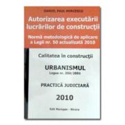 Autorizarea executarii lucrarilor de constructii