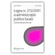 Legea 215/2001 a administraţiei publice locale - Comentarii pe articole