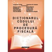 Dictionarul Codului de Procedura Fiscala