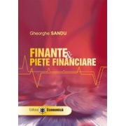 Finanţe si pieţe financiare