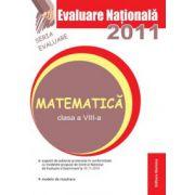 Evaluare nationala 2011 - Matematica clasa a VIII-a