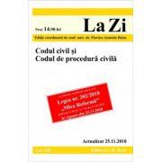 Codul civil si Codul de procedura civila (actualizat la 25. 11. 2010).