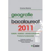 Geografie. Bacalaureat 2011