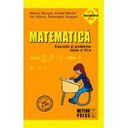Matematica. Exercitii si probleme. Clasa a VI-a, semestrul II 2010-2011