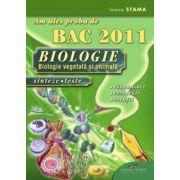 Am ales proba de BAC 2011 - BIOLOGIA SINTEZE. TESTE. REZOLVARI