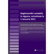 Reglementări contabile, valabile de la 1 ianuarie 2011 ( OMPF nr.2869 / 29.12.2010)