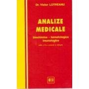 Analize medicale - biochimice - hematologice - imunologice