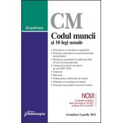 Codul muncii si 10 legi uzuale actualizat la 4 aprilie 2011
