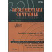 Reglementari Contabile 2011 (OMPF nr. 2869 / 29.12.2010). Legea Contabilitatii ( modificata conform O.U.G. nr.37/ 22 aprilie 2011)
