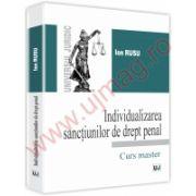 Individualizarea sanctiunilor de drept penal - Master