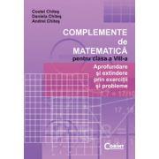 COMPLEMENTE DE MATEMATICA PENTRU CLASA A VIII-A