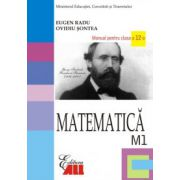 MATEMATICA  M1 MANUAL PENTRU CLASA A XII-A