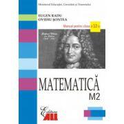 MATEMATICA M2  MANUAL PENTRU CLASA A XII-A