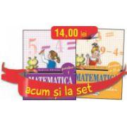 Set caiete Matematica  clasa I  semestrele I si II