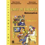 Matematica Caiet de vacanta  Clasa a II-a  Tema campionilor