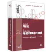 Codul penal si Codul de procedura penala - Ad litteram - Actualizat 10 septembrie 2011