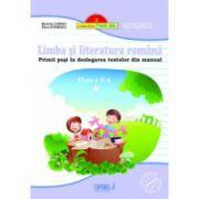 Limba si literatura romana, clasa a II-a Primii pasi in dezlegarea textelor din manua