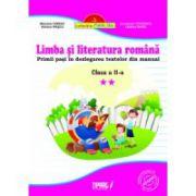 Limba si literatura romana cls a II-a Primii pasi in dezlegarea textelor din manual